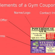 Coupon Marketing: How to Design a Coupon for a Gym or Fitness Center