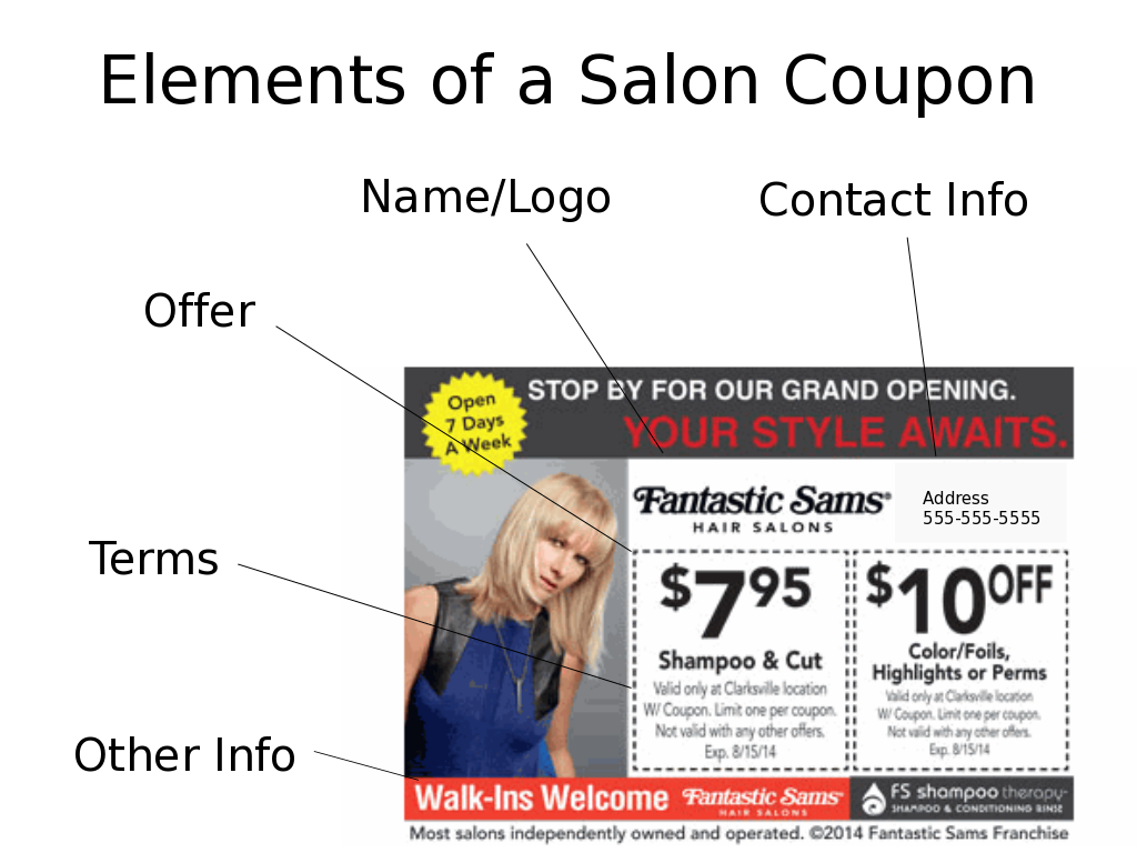 How To Design A Successful Coupon For Your Hair Salon Rtn